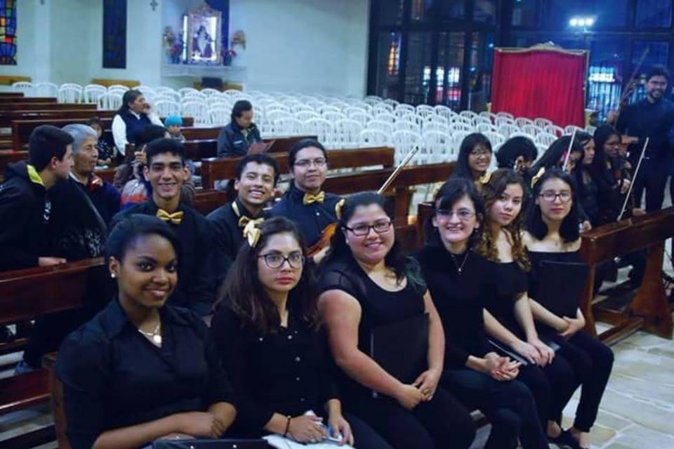 Coro Juvenil Franz Liszt en el Festival de Música Sacra 2018
