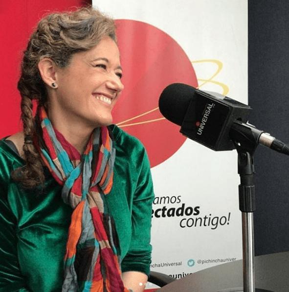 Sofía Izurieta en entrevista con Damiano